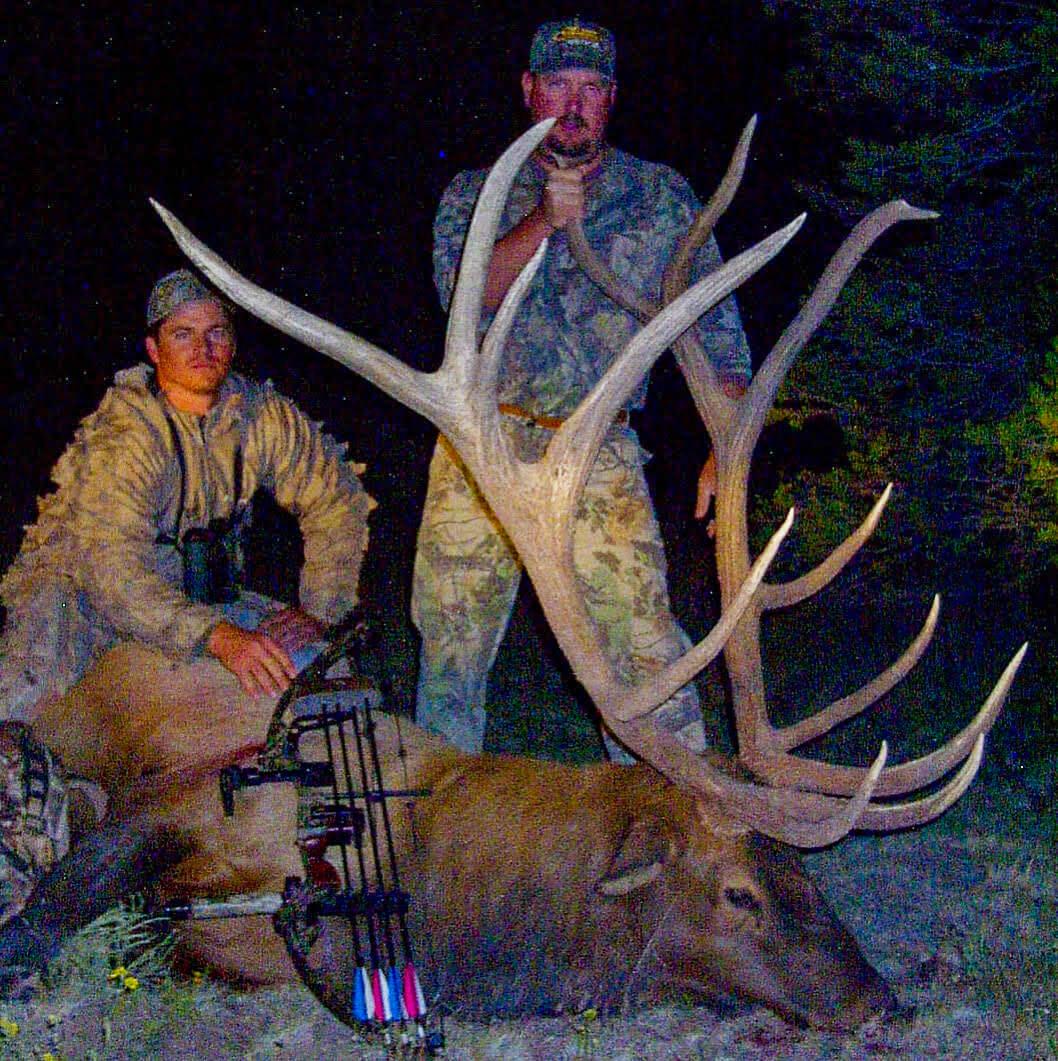 hunting Archery Bull Elk new mexico