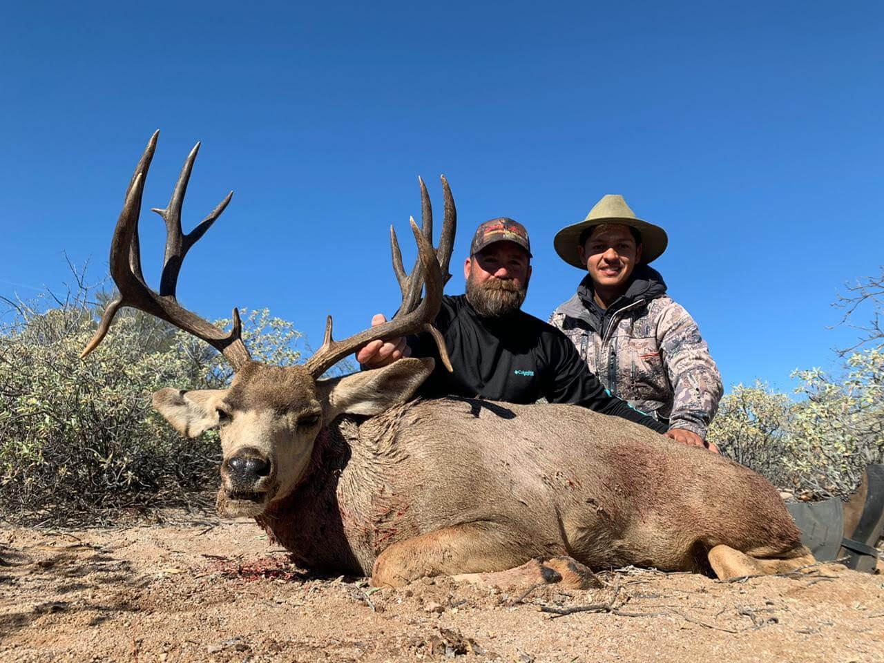 Desert mule deer hunting mexico