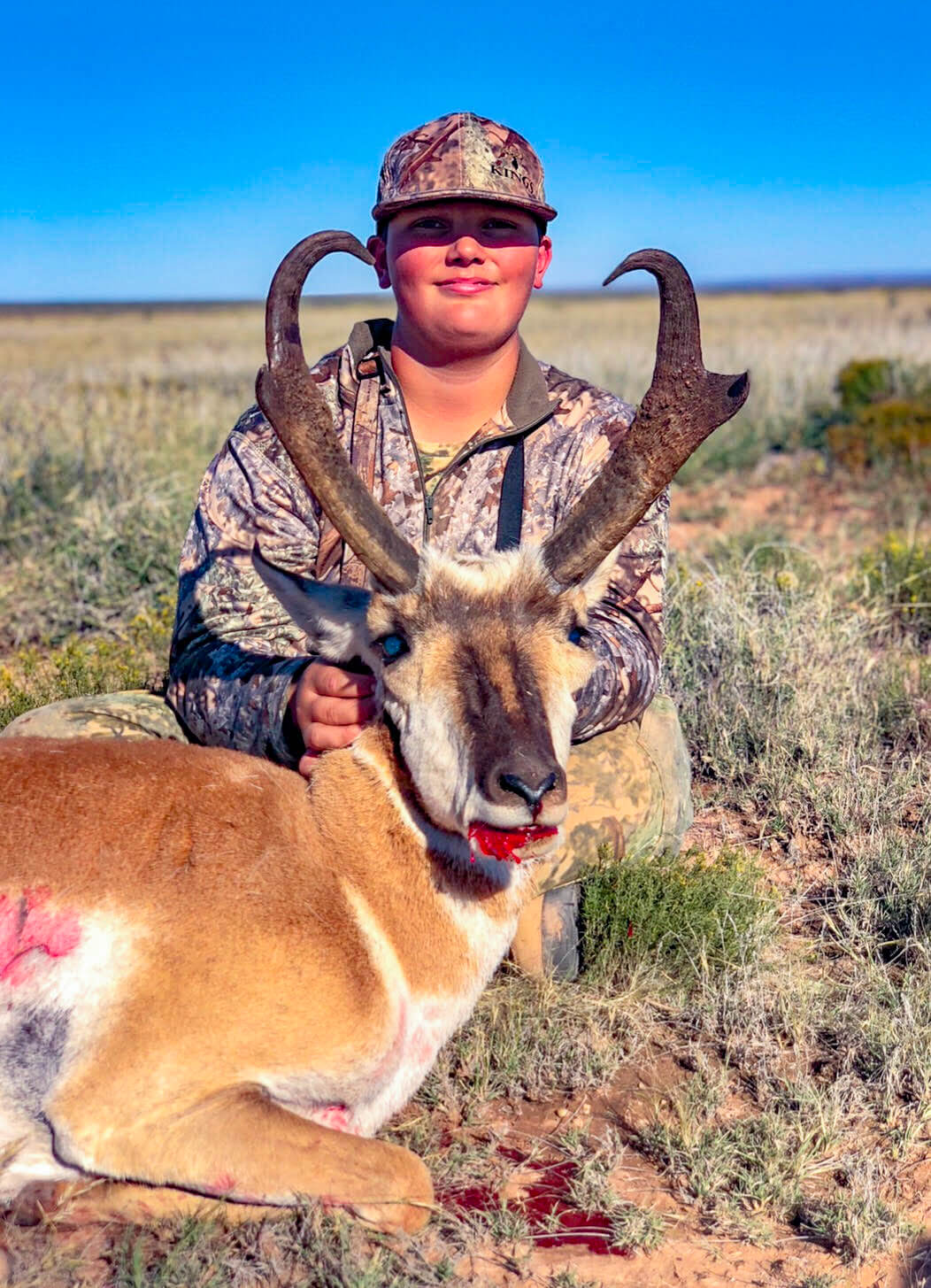 New Mexico rifle pronghorn hunting book now 2