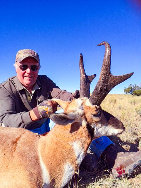 Unit 12 hunters pronghorn hunting