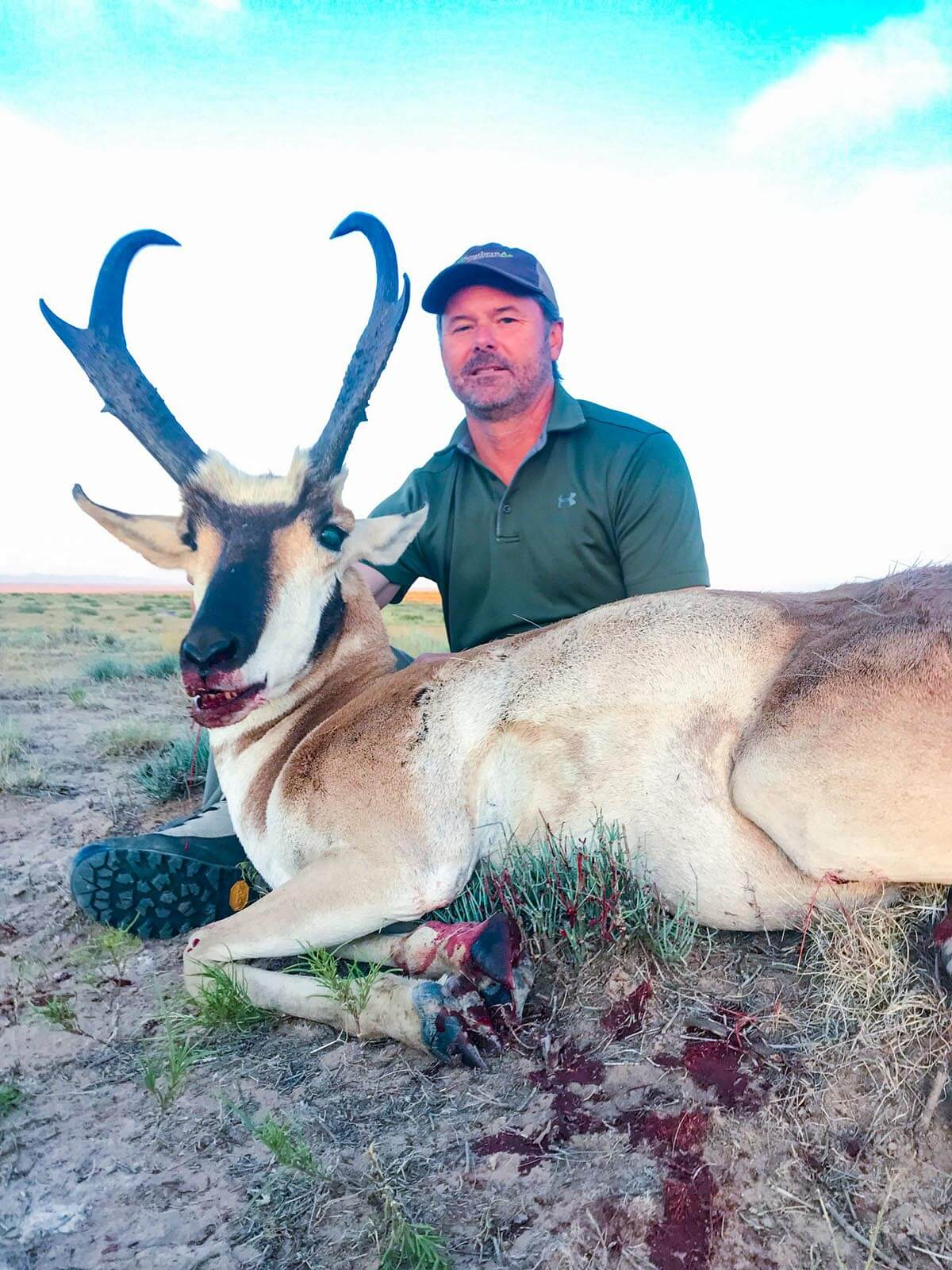 Rifle Pronghorn Hunts booking